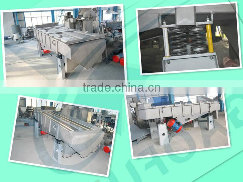 Gaofu New model of Linear vibration sieve machine for sand with CE