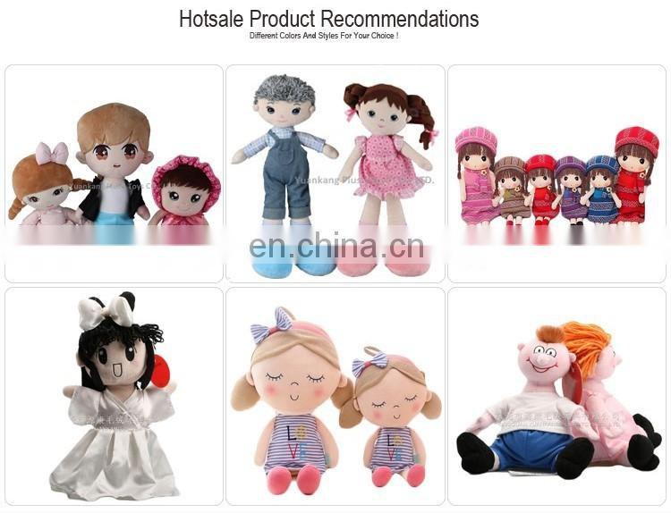 Promotional Customized Soft Plush Cloth Small Baby Doll