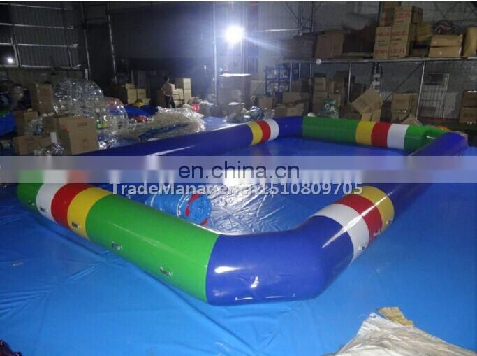 inflatable zorb ball with swimming pool/Durable PVC zorb pool /water pool