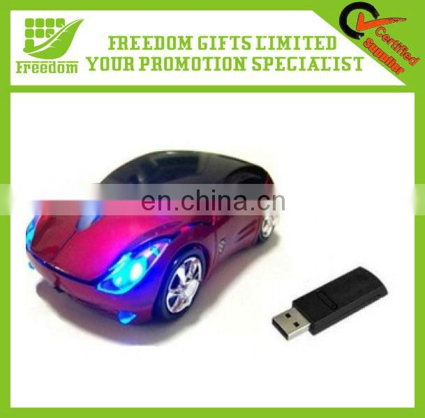 Personalized Logo Wireless Car Shaped Mouse