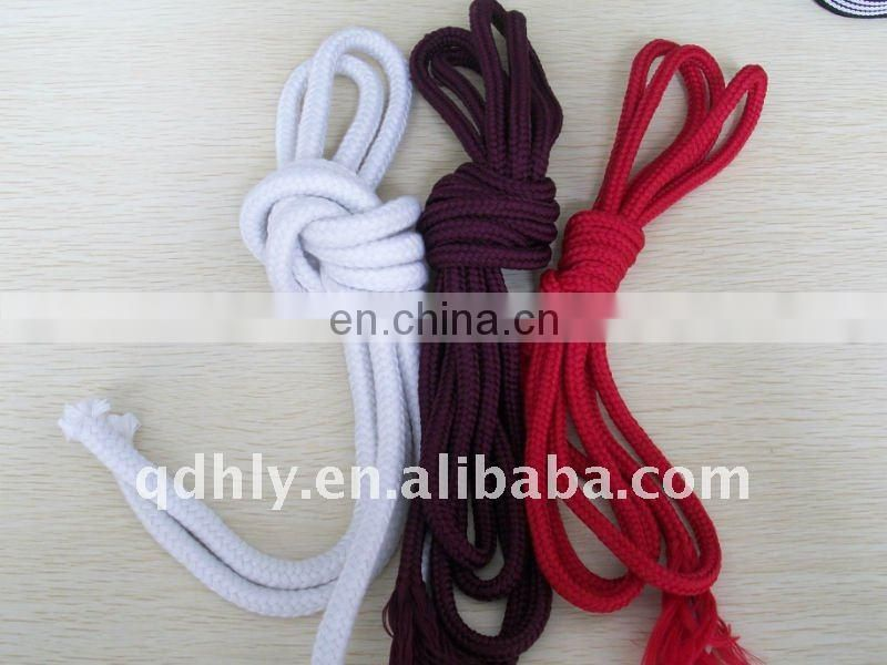 1cm bright red cotton rope