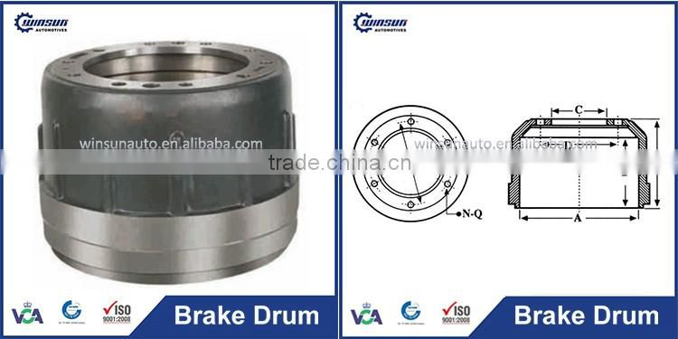 Replace OTOYOL Special Parts Axle Drum Brake for Sale