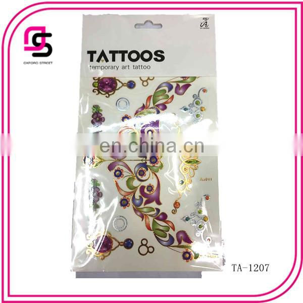 sold well body art tattoo sticker from china market 2015
