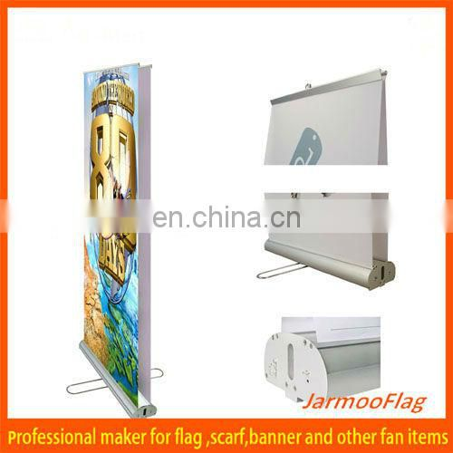 single print Retractable rolling display banner stand