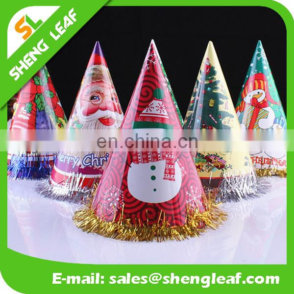 Christmas paper hat/cap for decoration party or christmas
