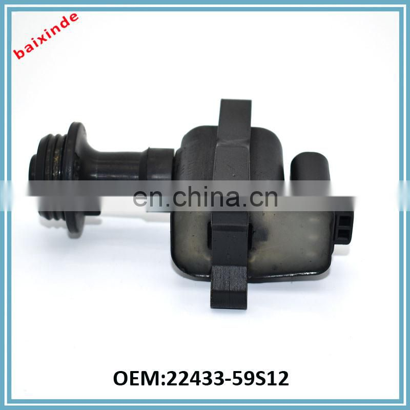 Baixinde Ignition System OEM 22433-59S12 for c856 NISAANs Pulsar NX 1987 1.6 1988-1989 1.8 UF-259 IC265 Generator Auto Ignition