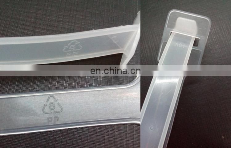 Plastic toy box handle for toys carton