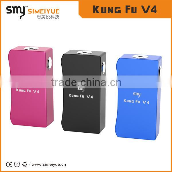 Kungfu V4 is the innovation series connection and parallel connection adjustable box mod from Simeiyue tech
