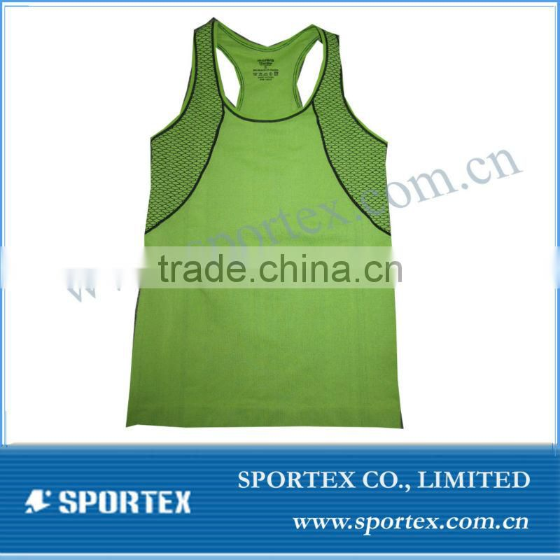 2013 OEM New Design Men's Compression shirts / High quality seamless base layer/Seamless sportswear