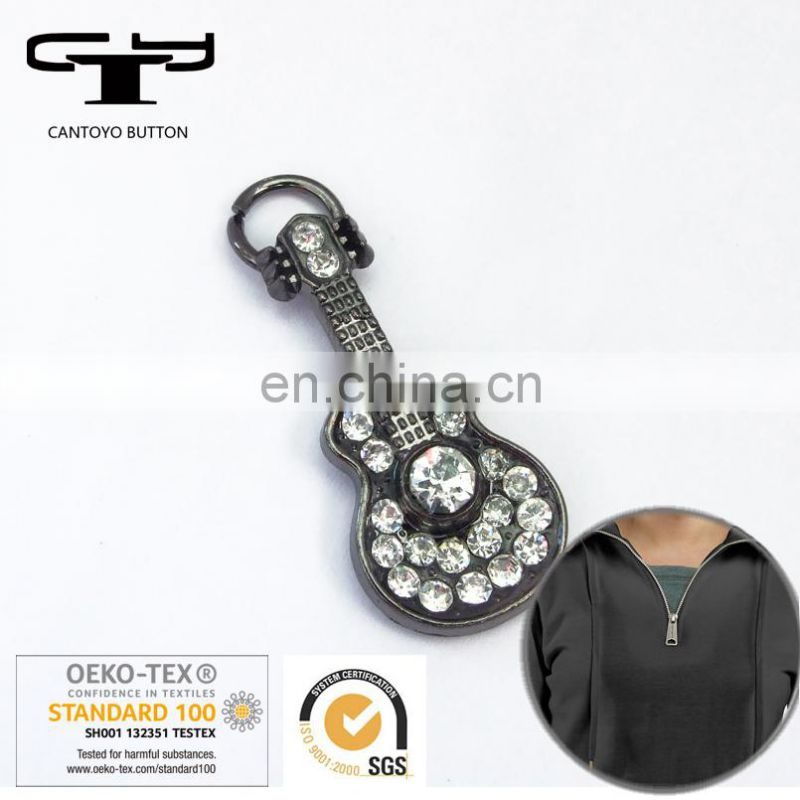 jacket metal zipper puller for bag and garment accessaries