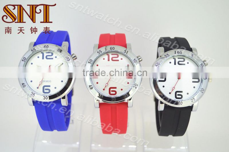 China manufacturer directly promotion silicone watch