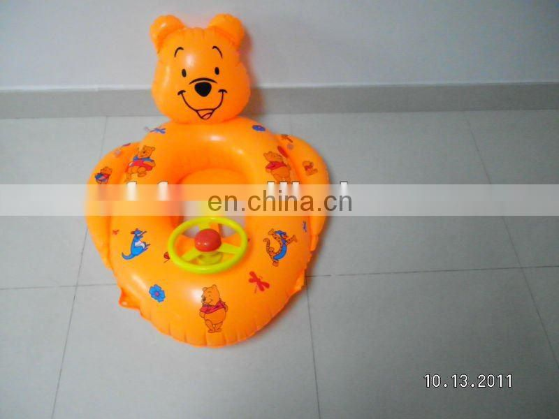 Inflatable Baby Boat With Steering Wheel