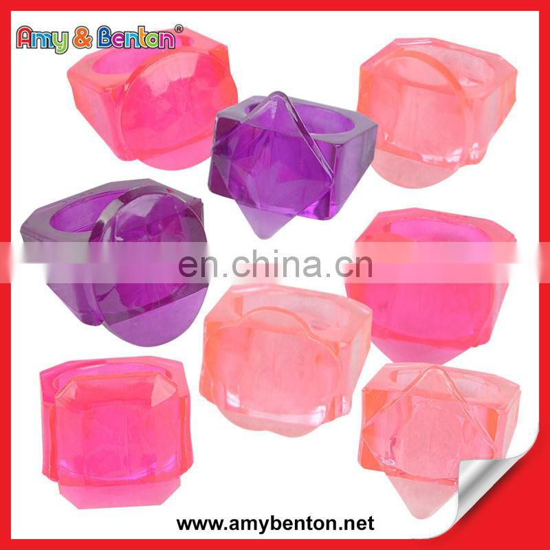 Whole Promotional New Invention Beautiful Diamond Ring Toy