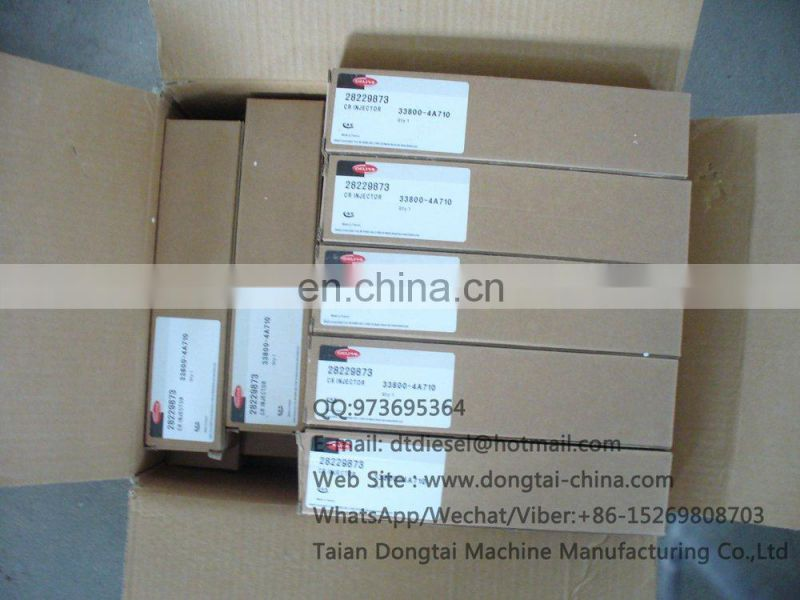 Common rail injector 28229873 for HYUNDA 33800-4A710