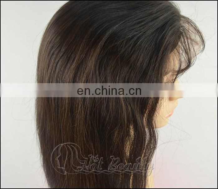 Hot Beauty Hair 2014 Nice Quality Virgin Full Lace Wig Short