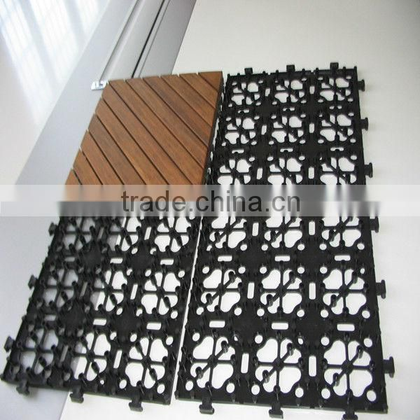 plastic garden floor tile,indoor plastic floor tile for sale