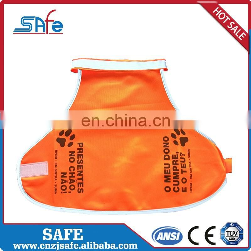 Highly customizable dog reflective vest