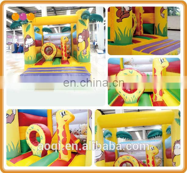 Commercial use forest theme outdoor inflatable bouncer for sale