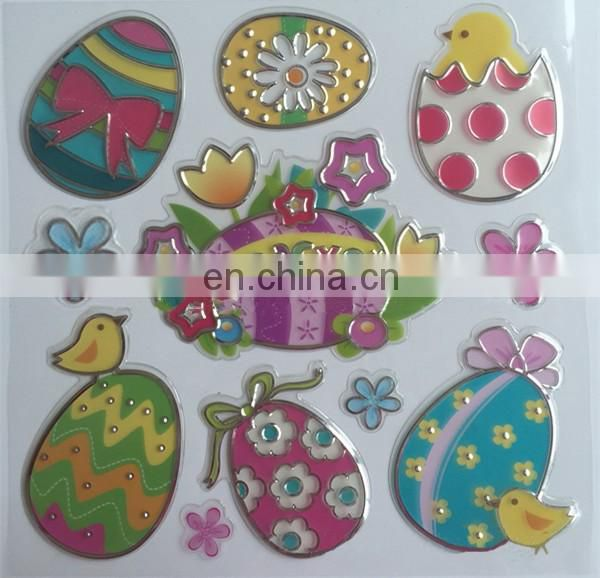 easter decoration window sticker
