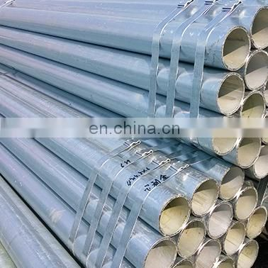 light galvanized gi pipes