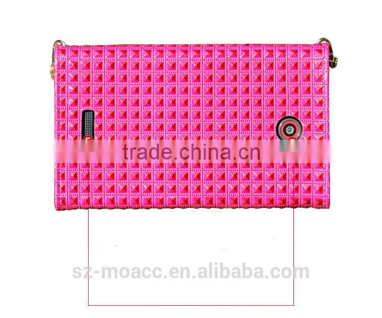 Lady Diamond Bag Genuine leather Case For Sony Z3