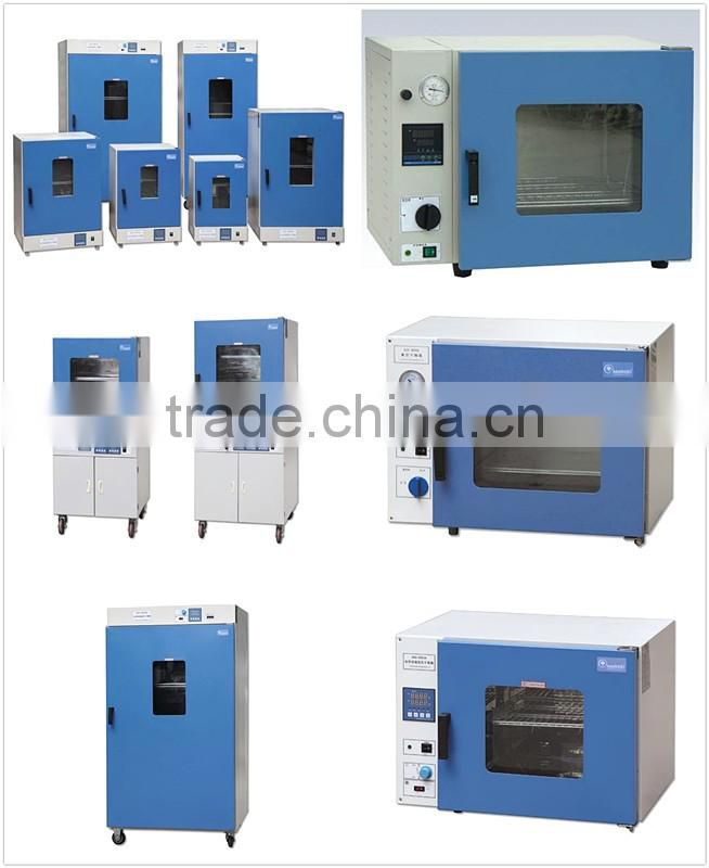 Vacuum oven with pump