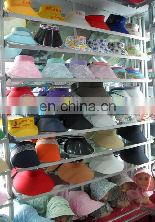 Factory Wholesale uv sun visor hat for outdoor promotion