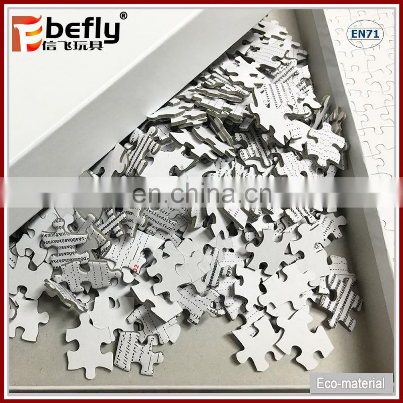 Custom mini jigsaw puzzles kids educational puzzles