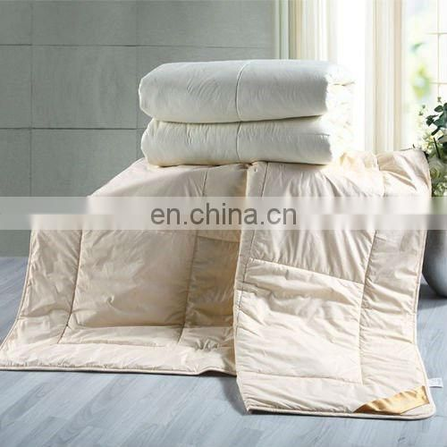 Breathable polyester cotton batting for quilt