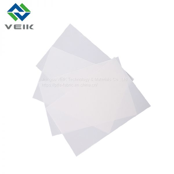 White Brown Black color teflon fabric ptfe coated fiberglass cloth Image