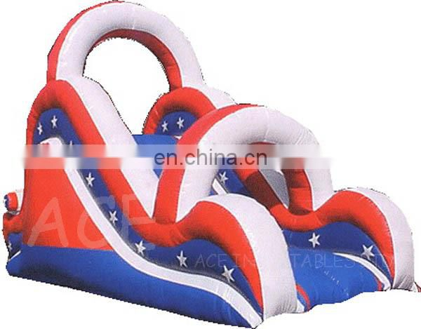 Inflatable Slide with stars printing for kids for sale