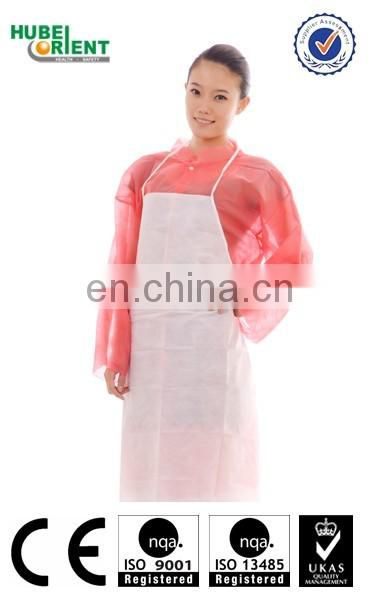 Alibaba china HDPE/LDPE disposable kitchen plastic apron