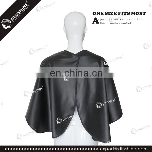 high quality short water-resistant makeup cape