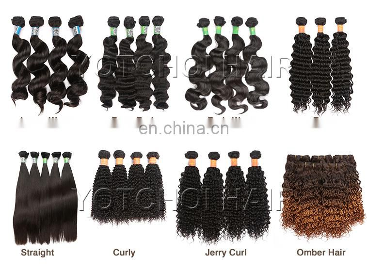 100% unprocessed indian remi virgin hair weave human hair drawstring ponytail