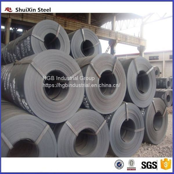 hot rolled black carbon steel strips from factory Image