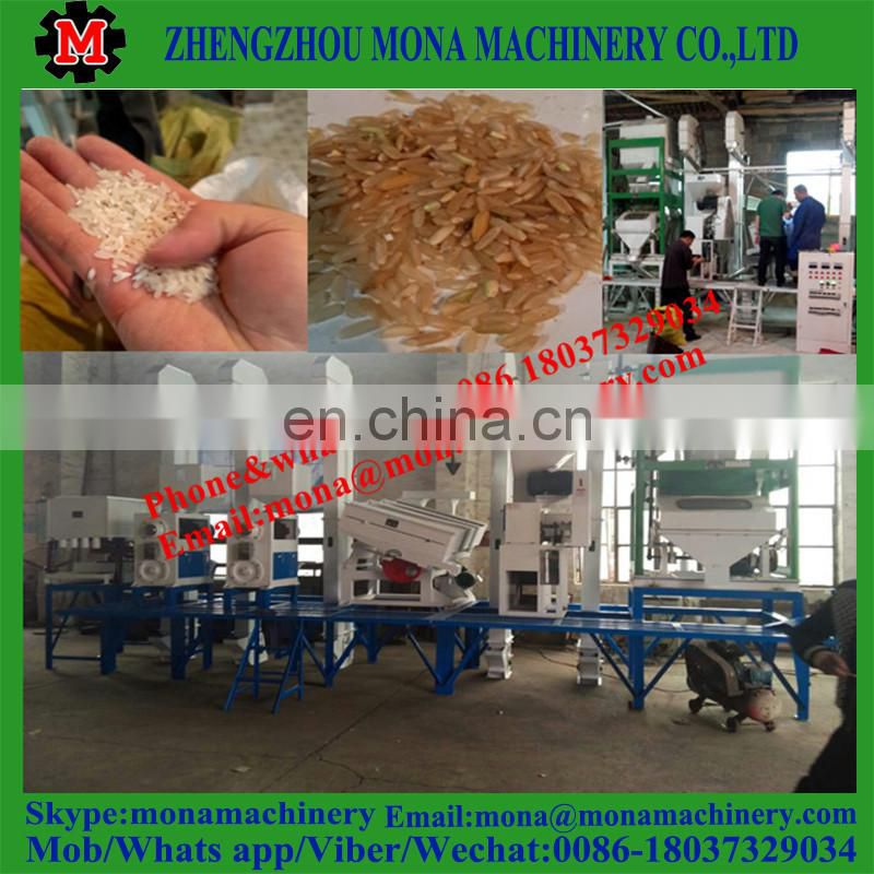 Auto rice mill in Philippines 30 ton rice milling machine Image