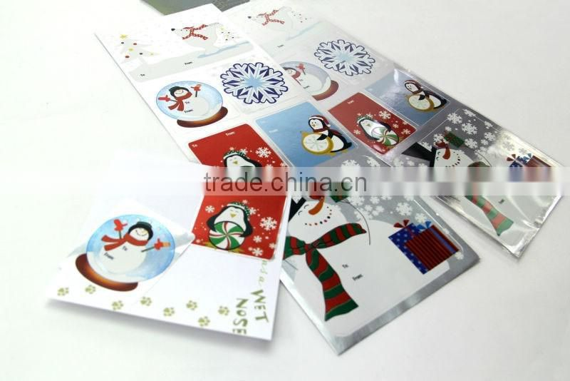 Christmas Foil Sticker to Fabulous Home