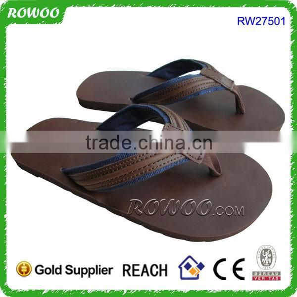 Branded brown Men's Leather Smoothy Sandals,leather sandals