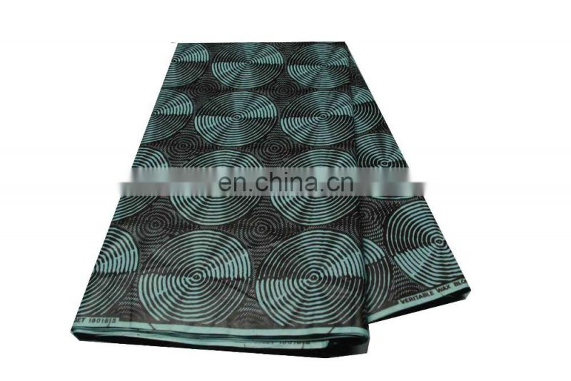 The Real Manufacturer of Hitarget Brand Veritable African Real Wax Cotton Fabric Block Printing