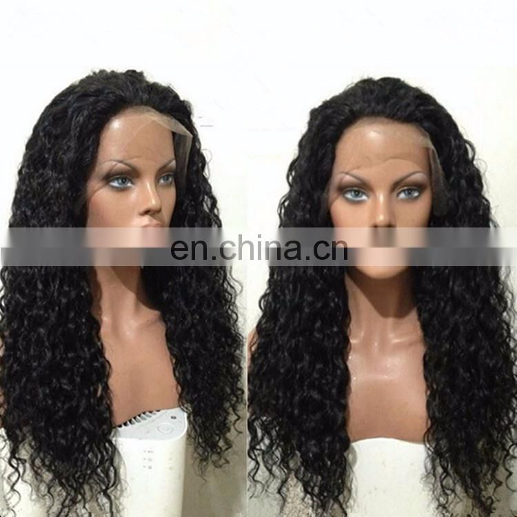 Kinky Twist Braided Lace Wig Virgin Brazilian Hair Lace Front Kinky Curly Natural Color Free Part Real Hair Wig With Baby Hair