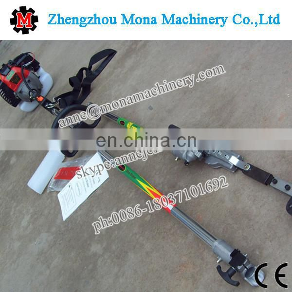 Gasoline electric harvester for jujube olive palm green walnut with lowest price Image