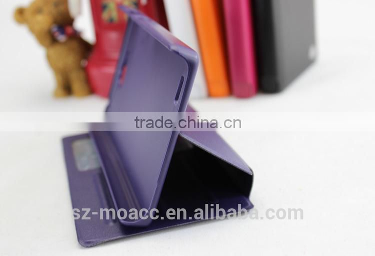 Wholesale View Stand Flip Leather Case for Huawei Honor 3C