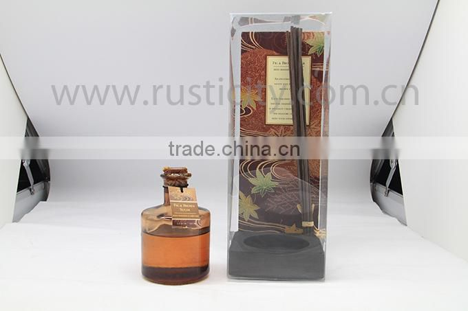 High quality aroma reed diffuser, wholesale home fragrance from manufacturer,reed diffuser with rattan sticks