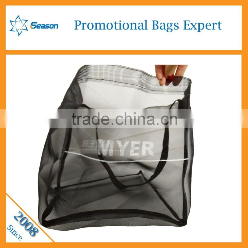 Nylon mesh bag fruit mesh net bag laundry beach bag