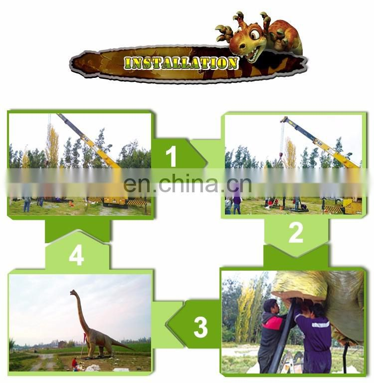 China KAWAH factory fiberglass dinosaur skeleton for exhibition