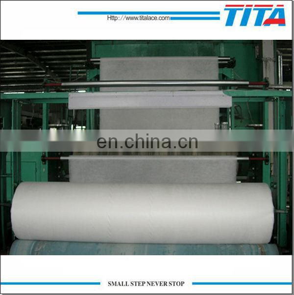 PVA hot water soluble embroidery backing paper manufacturer,non woven fabric 35gsm