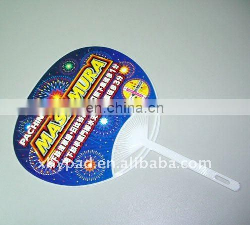 advertising plastic hand fan