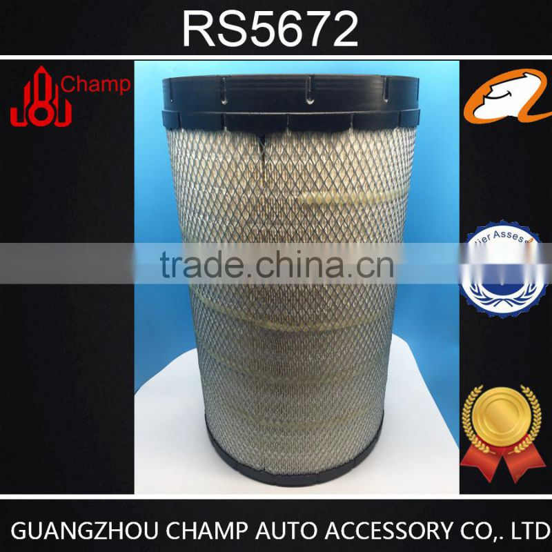 high efficiency ! auto parts air filter RS5672 Radial Seal