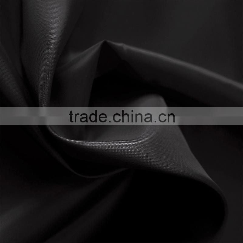 China supplier thick 100 polyester twill knitted fabric blend waterproof hemp canvas fabric