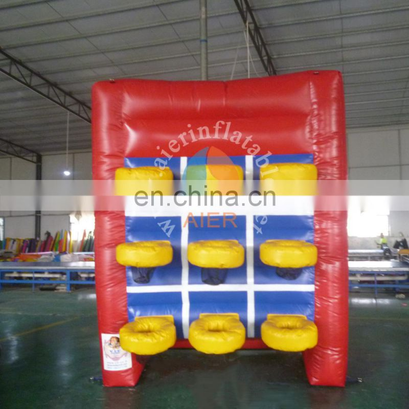 high quality inflatable games / outdoor inflatable basketball shooting game